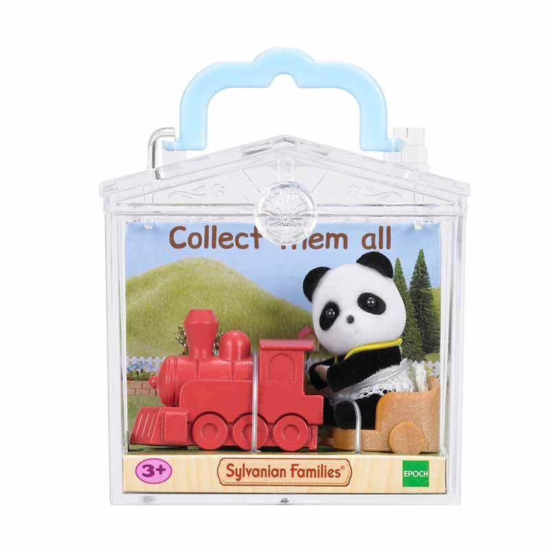 Sylvanian Families bebé para llevar R2 oso panda
