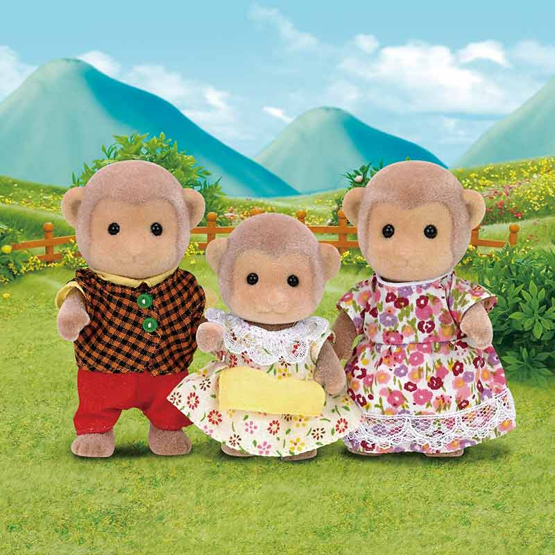 Sylvanian Families familia monos