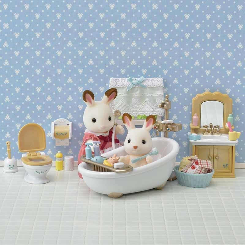 Set baño Country Sylvanian Families