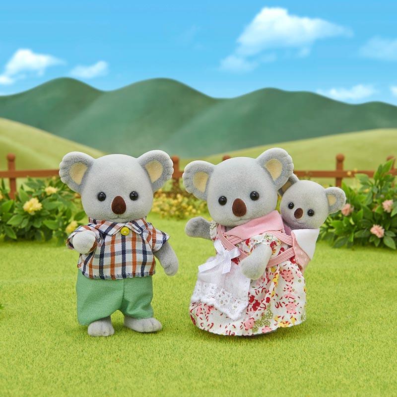 Sylvanian Families familia koala