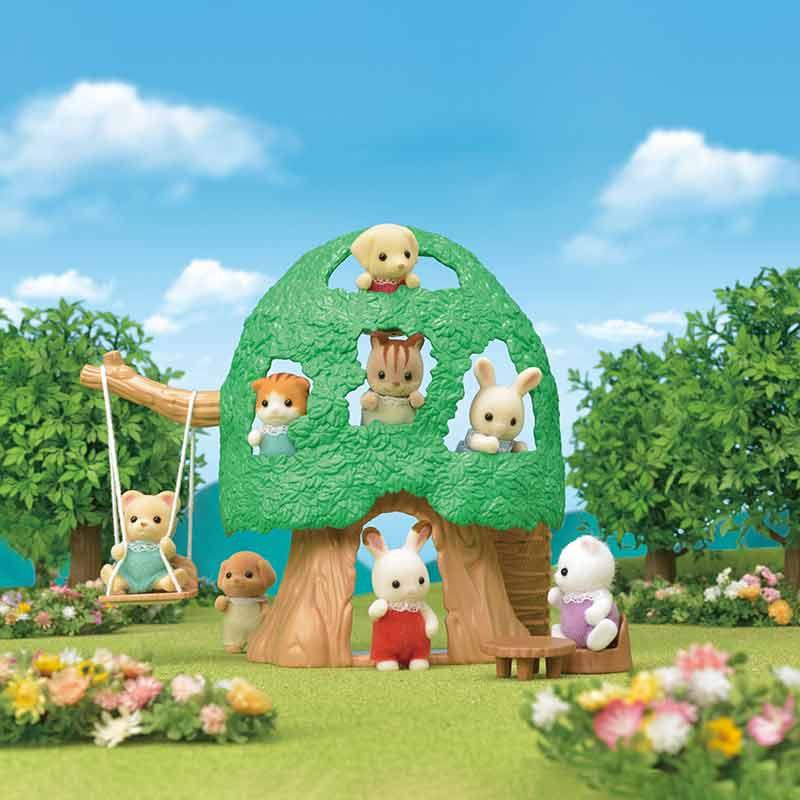 Sylvanian Families Casa del árbol para bebés