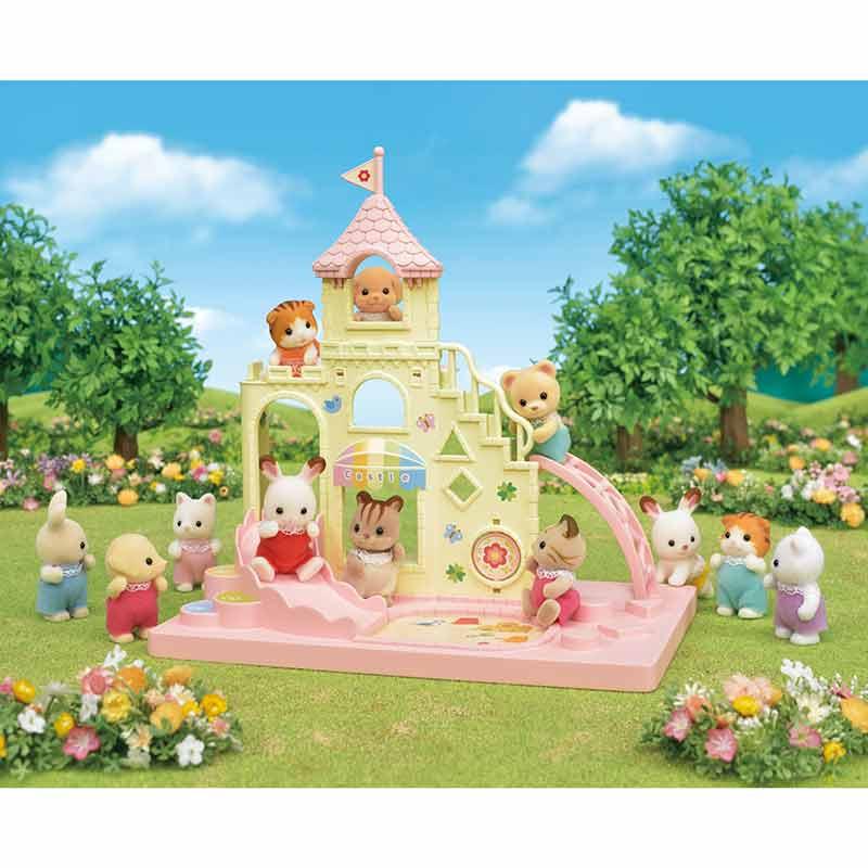 Sylvanian Families Parque infantil castillo de beb