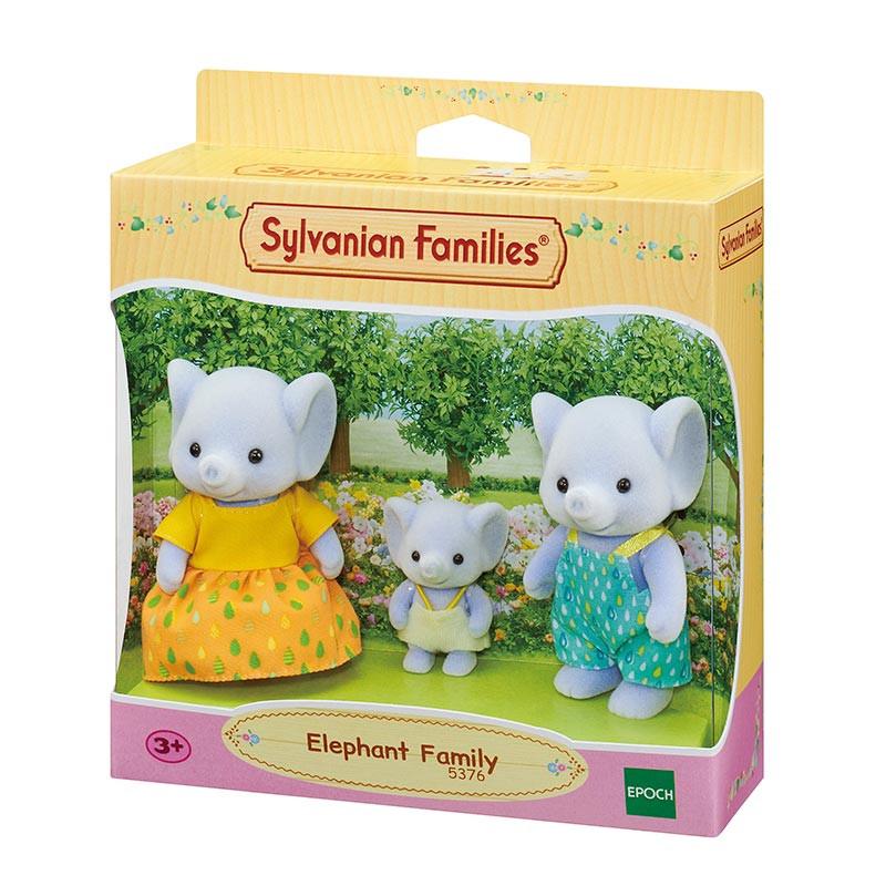 Sylvanian Families familia elefante