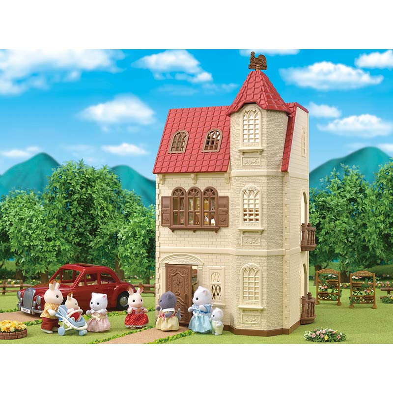 Sylvanian Families la casa del torreón
