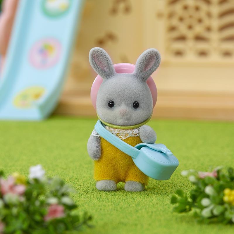 Sylvanian Families bebé conejo colita algodón