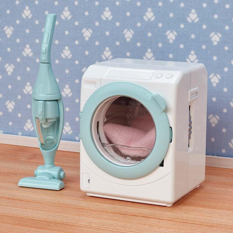 Sylvanian Family Set de lavadora y aspiradora