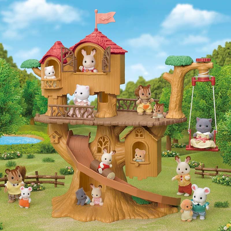 Sylvanian Family Casa de Aventuras en el Árbol