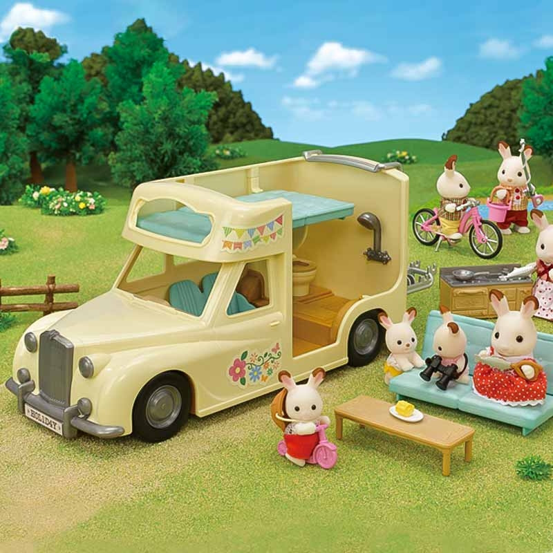 Sylvanian Family Autocaravana Familiar