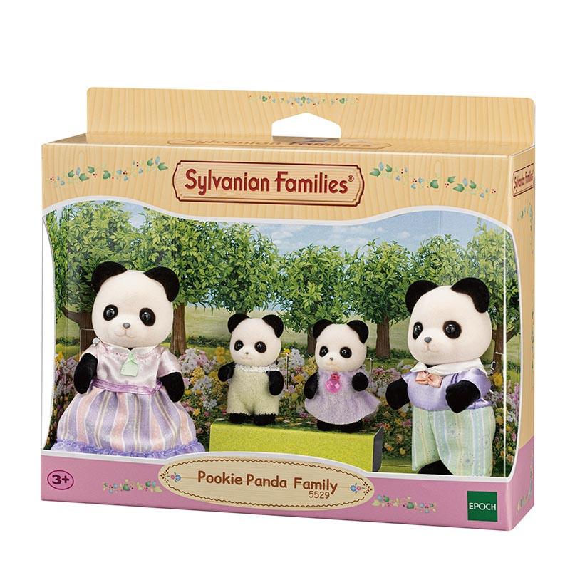 Sylvanian Families familia panda Pookie
