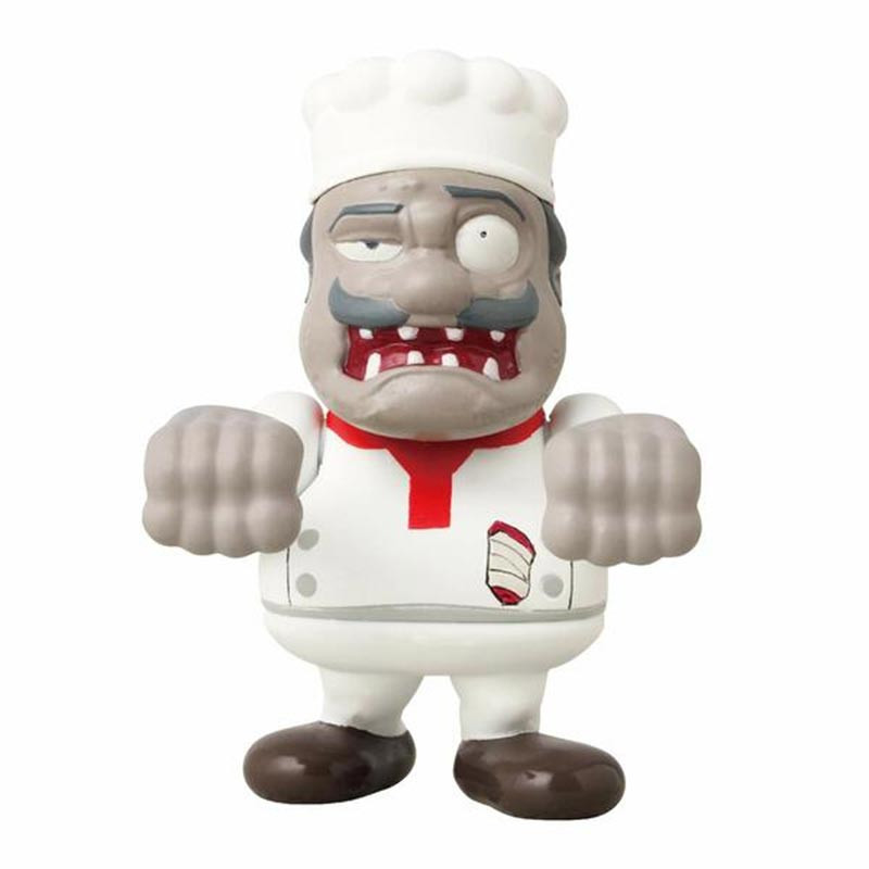 Pack 2 figuras World of Zombies Chef