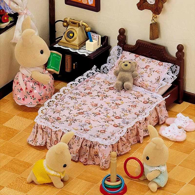 Sylvanian Families cama antigua clásica