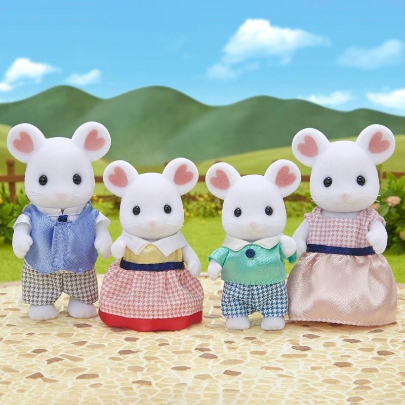 Sylvanian Families familia ratón Marshmallow