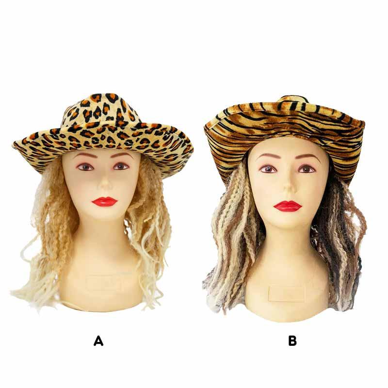 Sombrero Cowboy c/pelo Rubies
