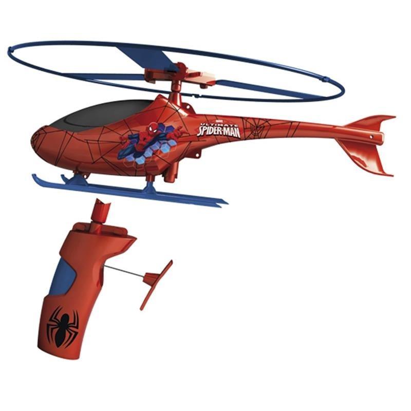 Spiderman helicóptero de rescate