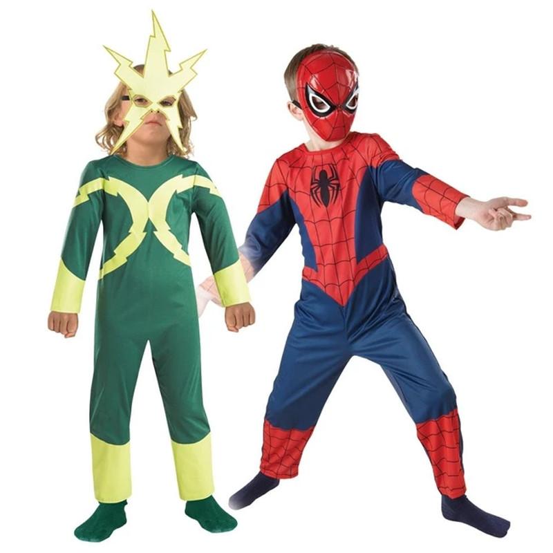 Disfraz Spiderman-Electro 2x1 inf