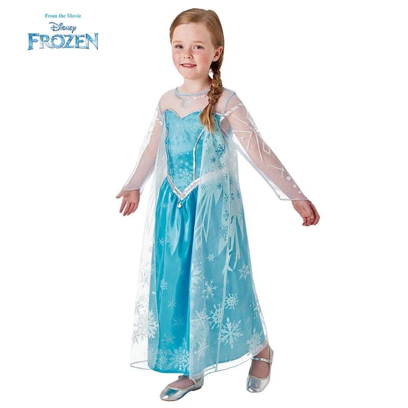 Disfraz Elsa Frozen deluxe infantil