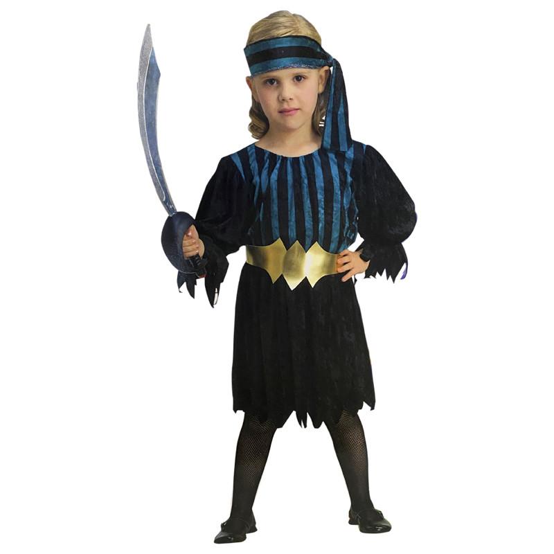 Disfraz Niña Pirata Infantil