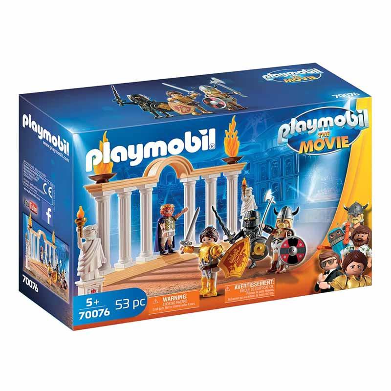Playmobil The Movie Emperador Maximus en el Colise