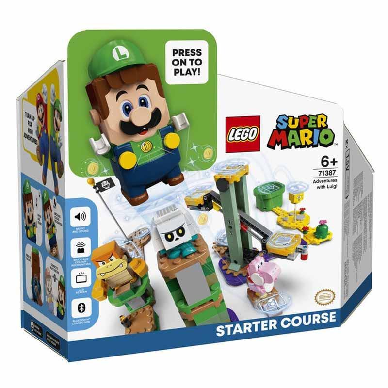 Lego Mario Pack Inicial Aventuras con Luigi