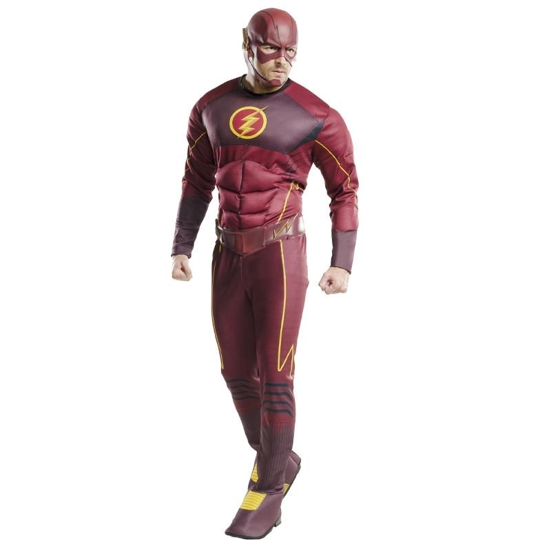 Disfraz Flash deluxe adulto
