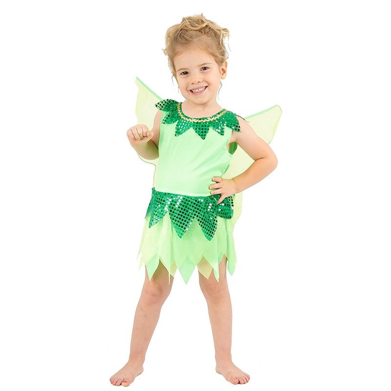 Disfraz Hada Verde para bebé