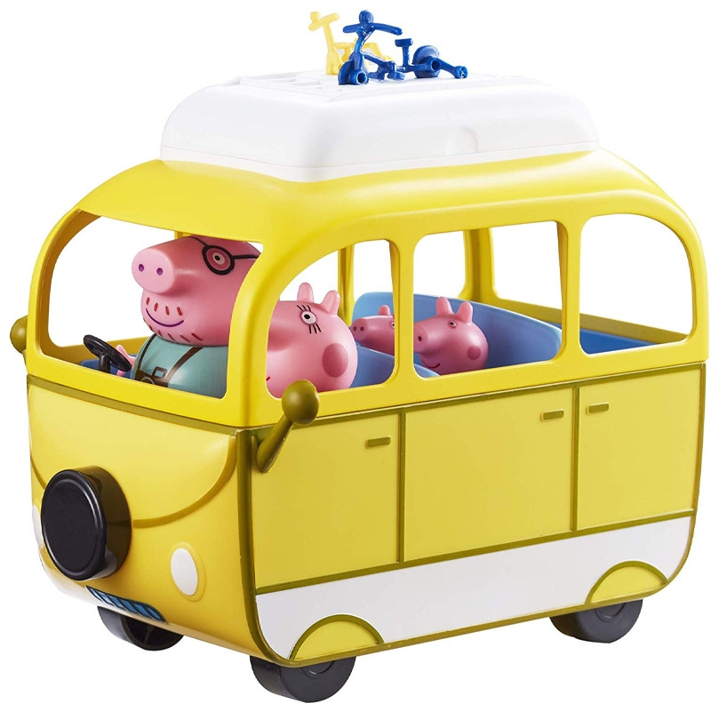 Peppa Pig Autocaravana con 4 figuras