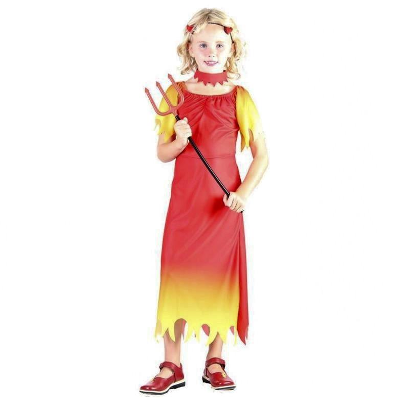 Disfraz Niña Diablo Infantil