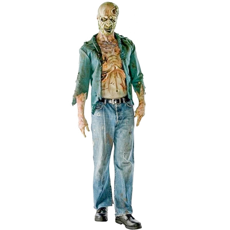 The Walking Dead - Disfraz zombie hambriento adult