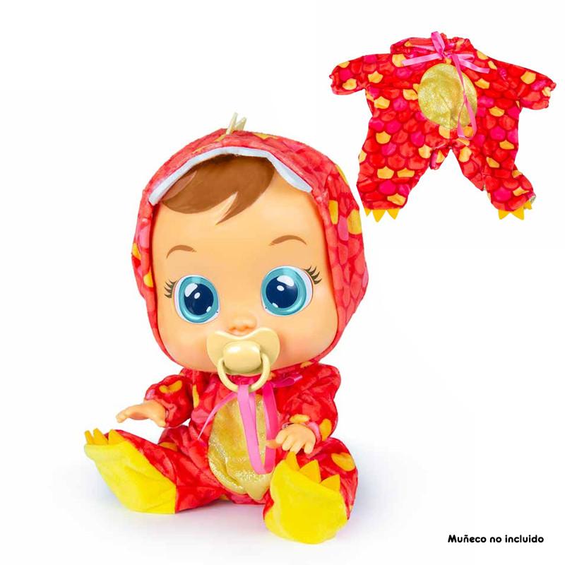 Bebés llorones pijama Dino