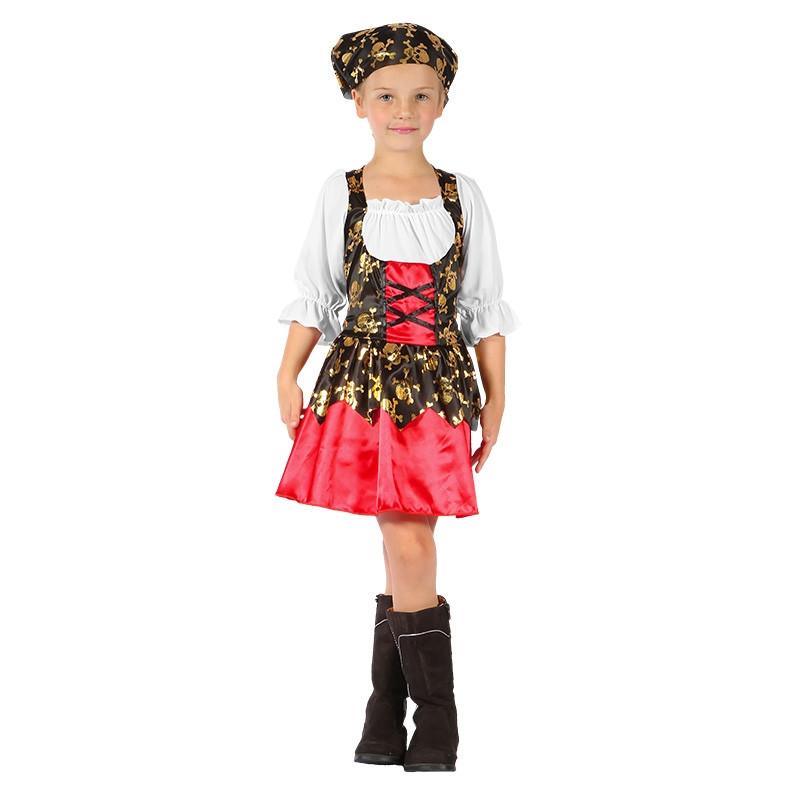 Disfraz Pirata Niña Infantil
