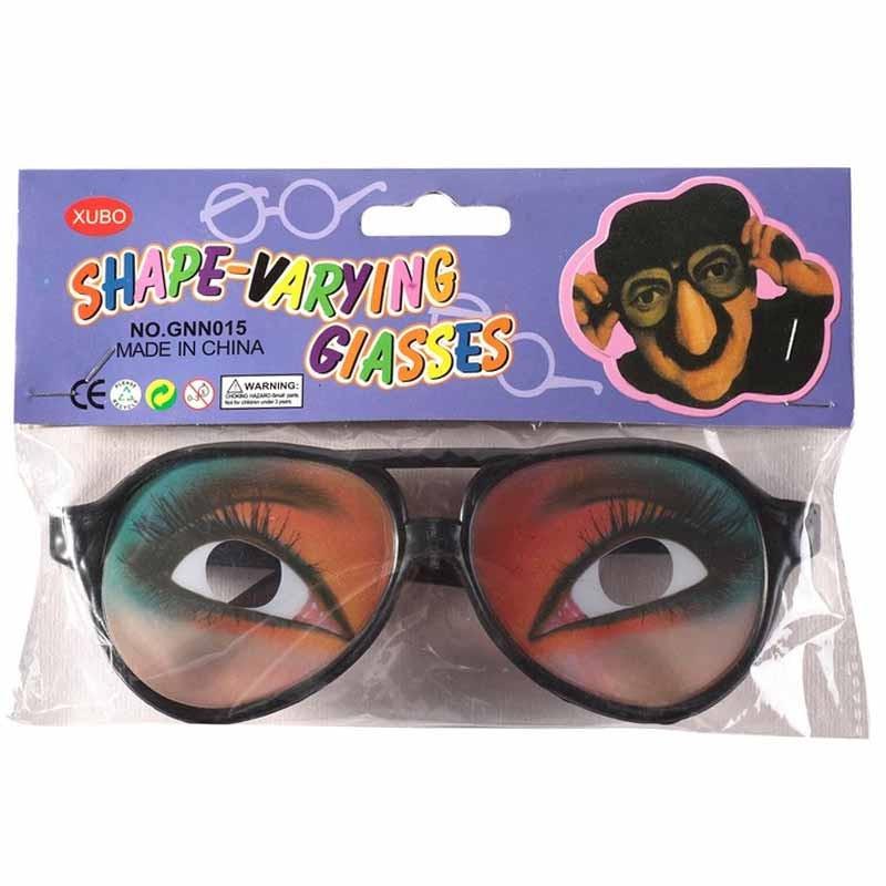 Carnaval Gafas con ojos