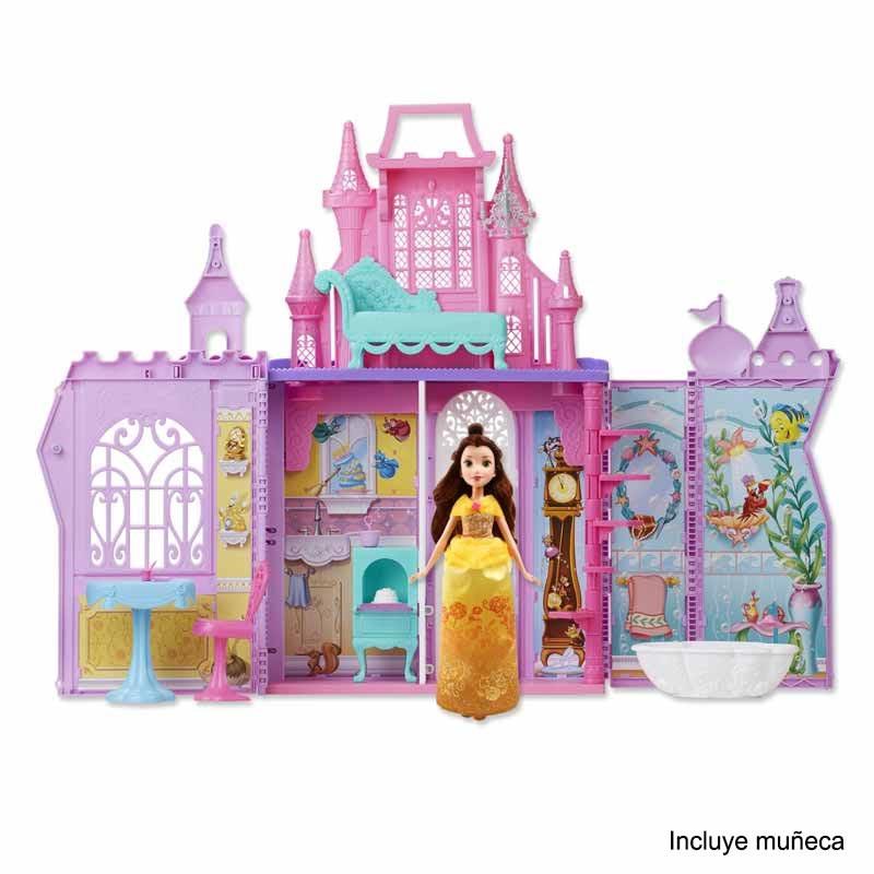Castillo de princesas Disney Pack and Go