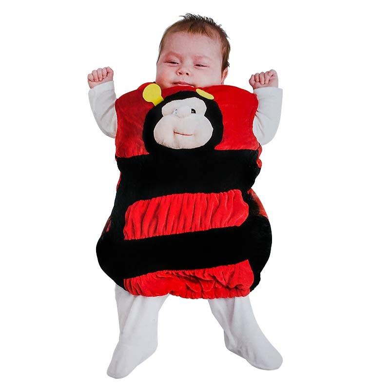 Disfraz peluche Mariquita bebé