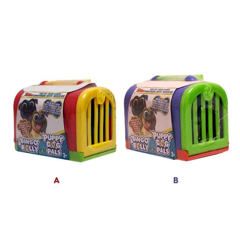 Bingo e Rolly com mala de transporte