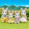 Sylvanian Families familia conejos Cotón