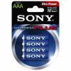 Pilas Lr03 Alkaline Sony