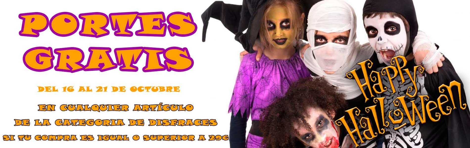 Disfraces y accesorios para Halloween
