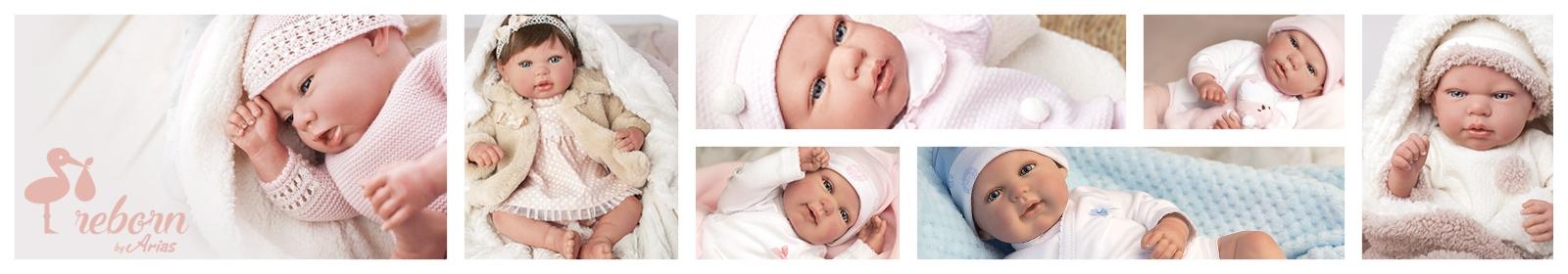 Comprar Muñecas bebé y Reborn Arias online al mejor precio