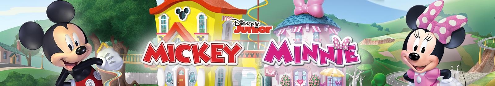 Juguetes de Mickey y Minnie