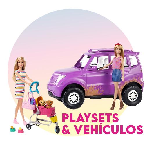 Playsets y vehiculos