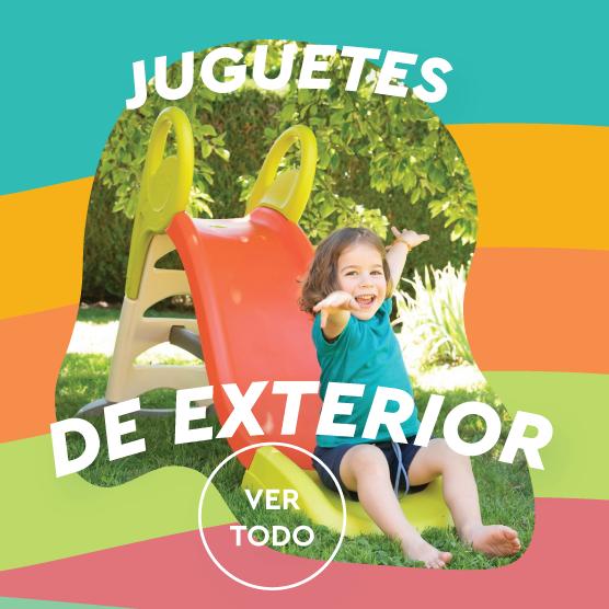 JUGUETES JARDIN Y EXTERIOR