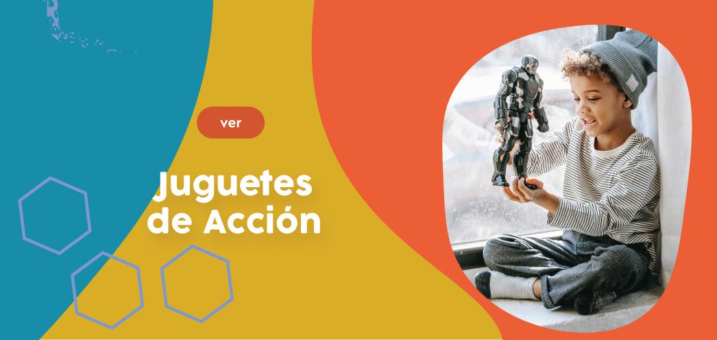 JUGUETES DE ACCIÓN