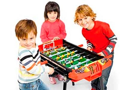 Futbolín, pinball y billar