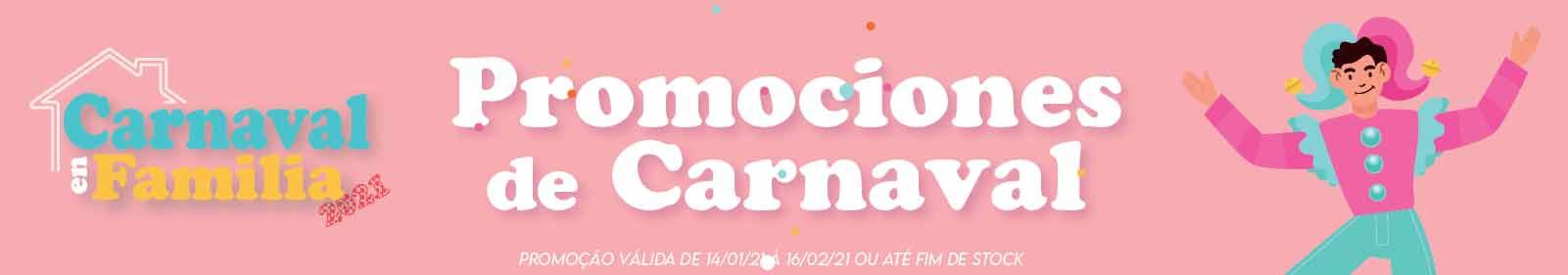 Promociones de Carnaval