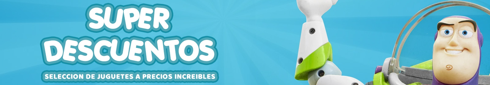 Super descuentos online en juguetes